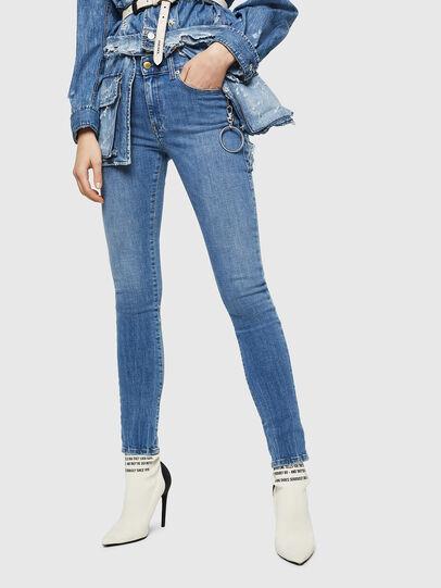 Diesel - D-Roisin 0890H, Blu Chiaro - Jeans - Image 4
