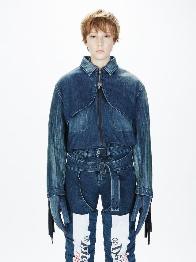 Diesel - SOGLV01-KIT, Blu Jeans - Guanti - Image 5