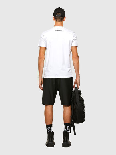 Diesel - P-RUST-SHO, Nero - Shorts - Image 6