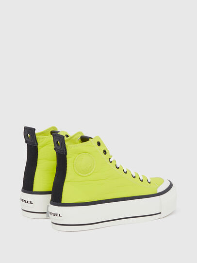 Diesel - S-ASTICO MC WEDGE, Giallo - Sneakers - Image 3