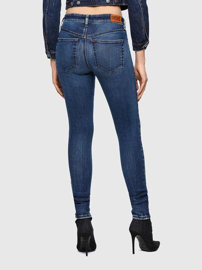 Diesel - Slandy 009ZX, Blu Scuro - Jeans - Image 2