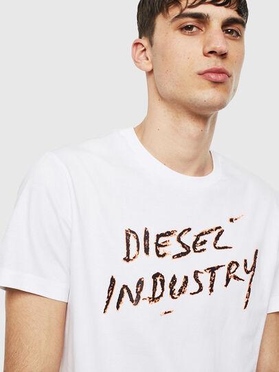 Diesel - T-DIEGO-S15, Bianco - T-Shirts - Image 3