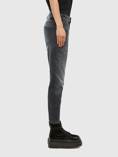 Diesel - FAYZA JoggJeans® 069QA, Nero/Grigio scuro - Jeans - Image 3