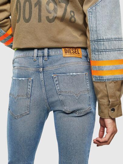 Diesel - Tepphar 0096Y, Blu Chiaro - Jeans - Image 4