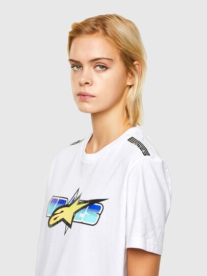 Diesel - ASTARS-T-DIEGOS-B-FL, Bianco - T-Shirts - Image 5