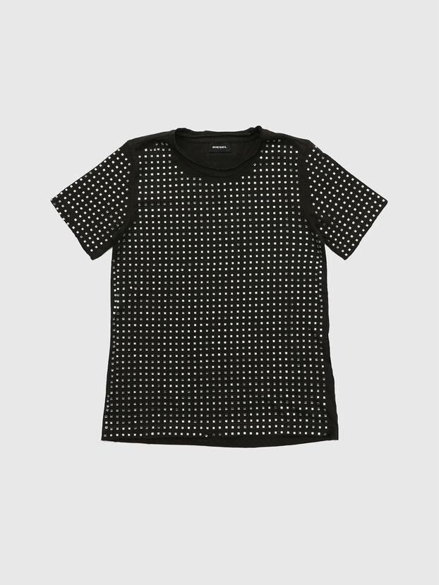TJRATY, Nero - T-shirts e Tops