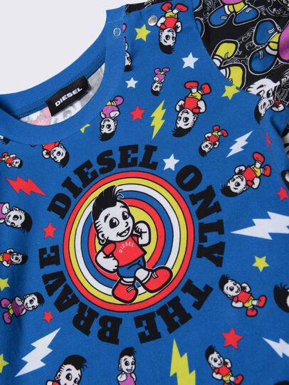 Diesel - TOTIXB, Blu/Nero - T-shirts e Tops - Image 3