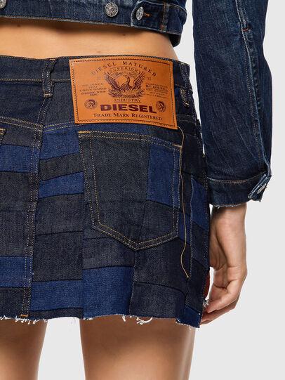 Diesel - DE-JEYJEY, Blu medio - Gonne - Image 3