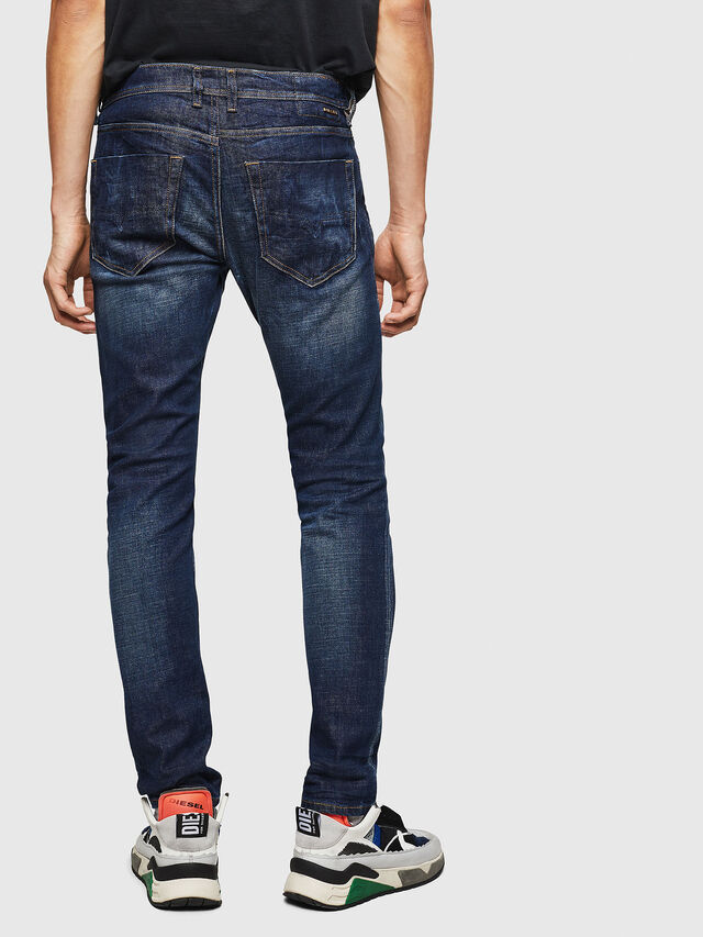 Diesel - Tepphar 087AT, Blu Scuro - Jeans - Image 2