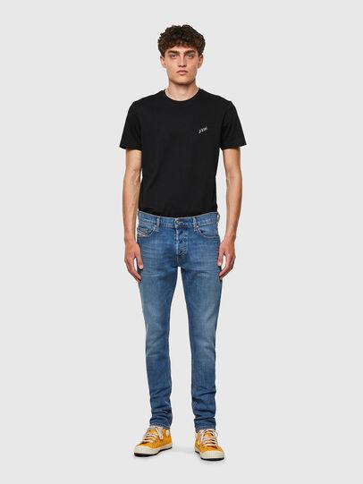 Diesel - D-Luster 009ZR, Blu Chiaro - Jeans - Image 5