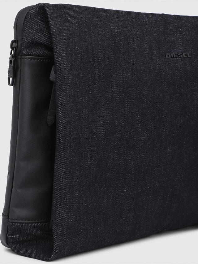 Diesel - D-SUBTORYAL CLUTCH, Blu Jeans - Pochette - Image 4