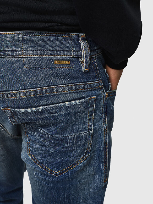 Diesel - Thommer 089AR, Blu medio - Jeans - Image 3