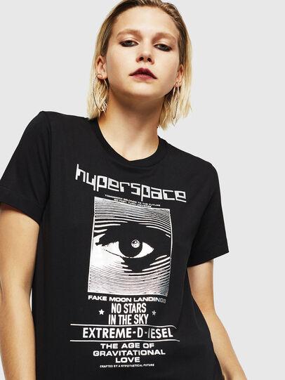 Diesel - T-SILY-YB, Bianco - T-Shirts - Image 3
