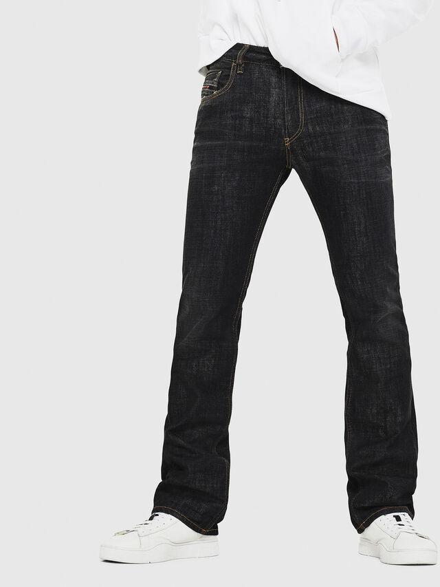 Diesel - D-Ligenz 8880W, Nero/Grigio scuro - Jeans - Image 1