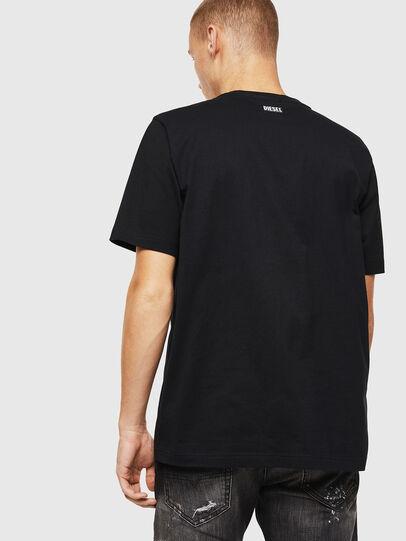 Diesel - T-JUST-J13, Nero - T-Shirts - Image 2