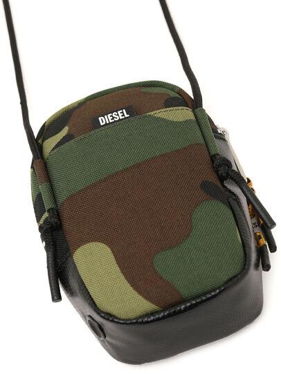 Diesel - FAYRCASE, Verde Militare - Portafogli Con Zip - Image 7