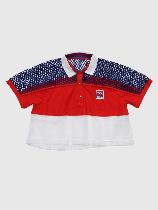 TVAITEA, Rosso/Bianco - T-shirts e Tops