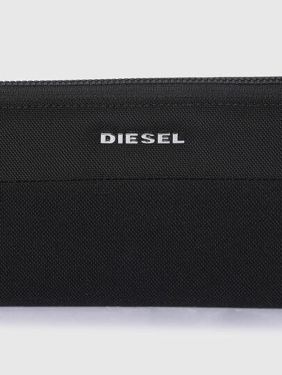 Diesel - 24 ZIP, Nero - Portafogli Con Zip - Image 4