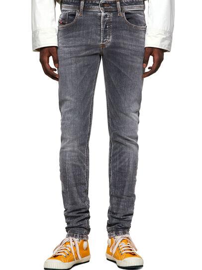 Diesel - Sleenker 009FW, Grigio Chiaro - Jeans - Image 1