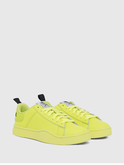 Diesel - S-CLEVER LOW LACE W, Giallo Fluo - Sneakers - Image 2