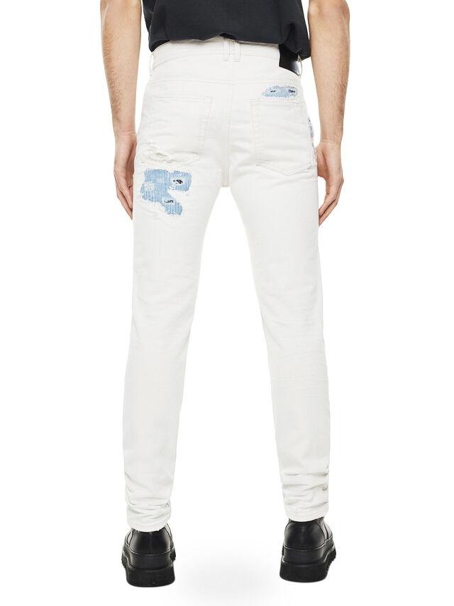 Diesel - TYPE-2880, Bianco/Blu - Jeans - Image 2