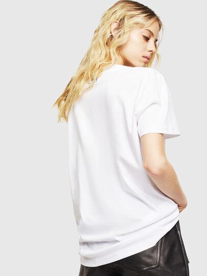 Diesel - T-DARIA-Y, Bianco - T-Shirts - Image 2