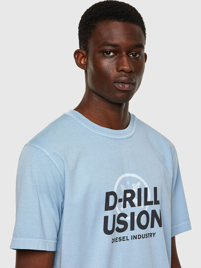 Diesel - T-JUBINDY, Blu Chiaro - T-Shirts - Image 3