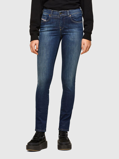Diesel - Sandy 009HL, Blu Scuro - Jeans - Image 1