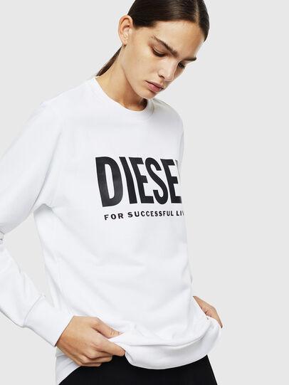 Diesel - S-GIR-DIVISION-LOGO, Bianco - Felpe - Image 2