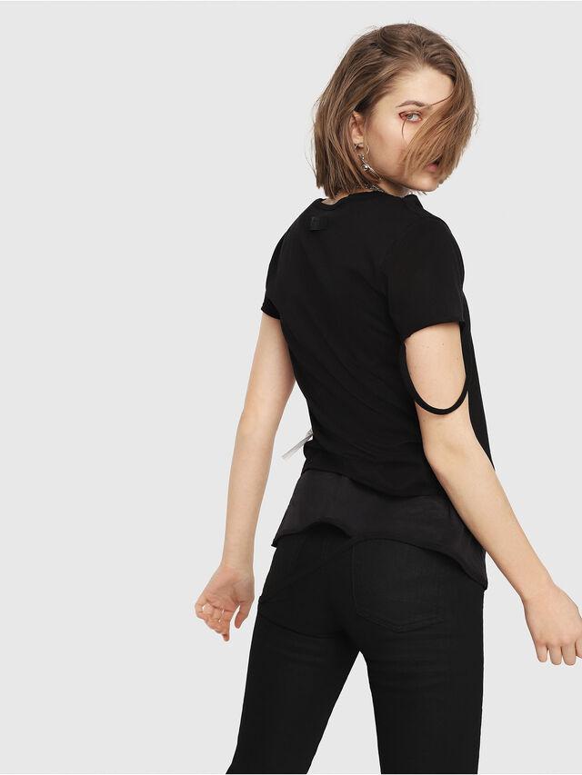 Diesel - T-EMIKO-B, Nero - T-Shirts - Image 2