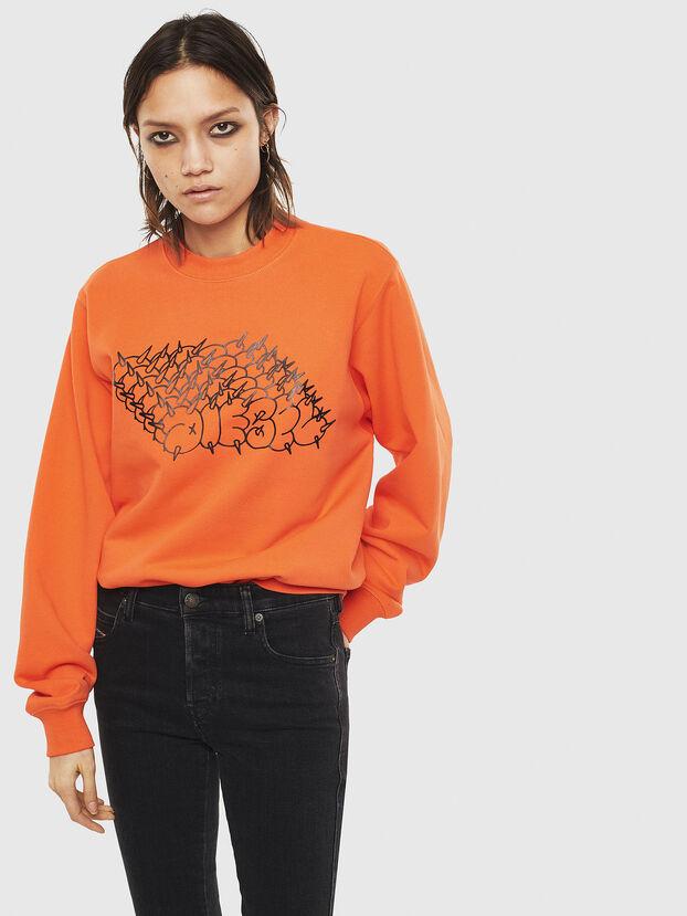 F-ANG-S2, Arancione - Felpe