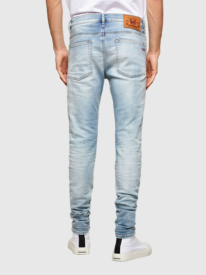 Diesel - D-Reeft JoggJeans® 069UC, Blu Chiaro - Jeans - Image 2