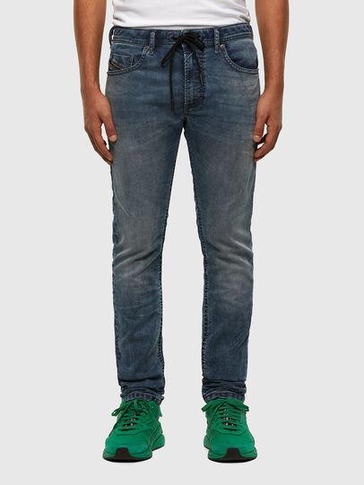 Diesel - Thommer JoggJeans 069NZ, Blu medio - Jeans - Image 1