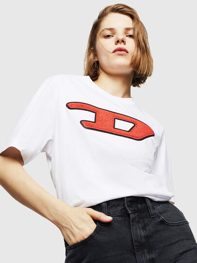 Diesel - T-JUST-DIVISION-D-FL,  - T-Shirts - Image 4