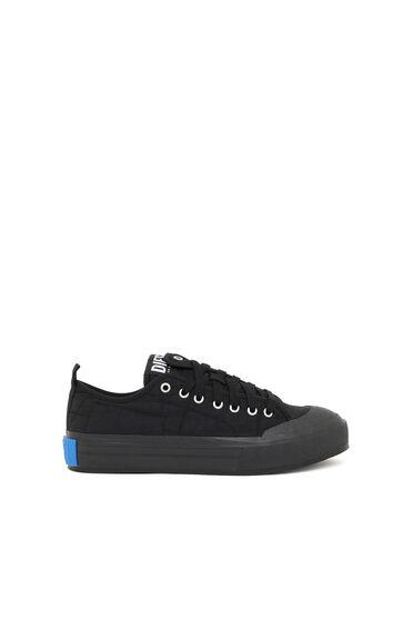 Sneaker basse asimmetriche in nylon