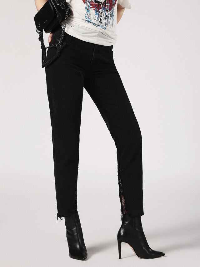 NEEKHOL-SP 084SL, Nero Jeans