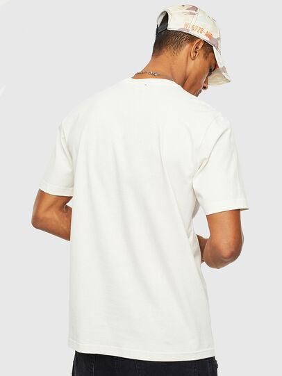 Diesel - T-JUST-T14, Bianco - T-Shirts - Image 2
