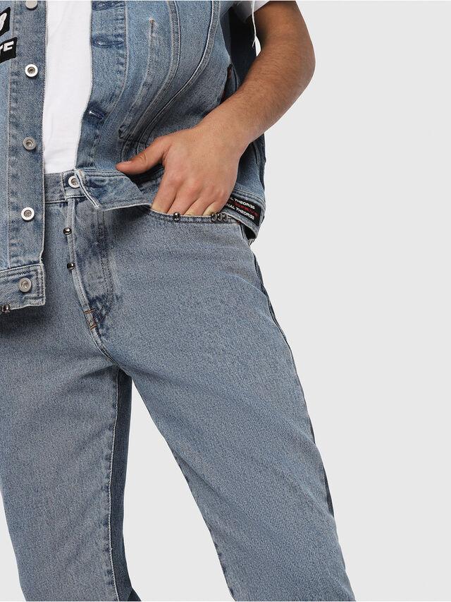 Diesel - Mharky 0077Z, Blu medio - Jeans - Image 4