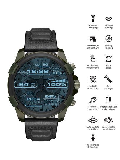 Diesel - DT2003, Verde Militare - Smartwatches - Image 1