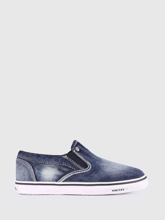 KIDS SLIP ON 21 DENIM YO, Blu Jeans - Scarpe - Image 1