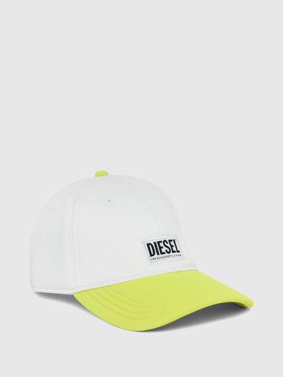 Diesel - DURBO, Bianco/Giallo - Cappelli - Image 1
