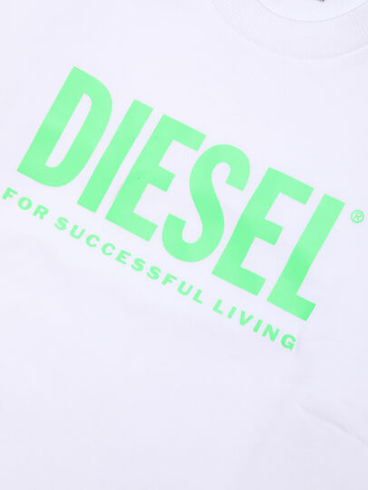Diesel - SCREWDIVISION-LOGOX, Bianco - Felpe - Image 3