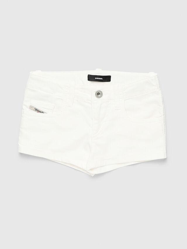 Diesel - PRIRAZ-N, Bianco - Shorts - Image 1