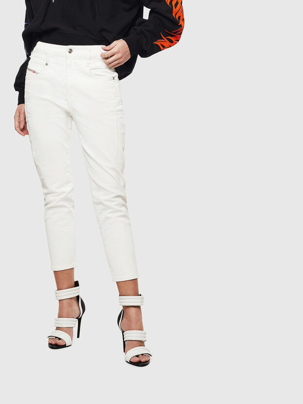 Fayza 009AY, Bianco - Jeans