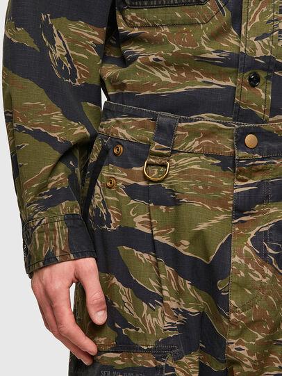 Diesel - P-BARTON, Verde Militare - Pantaloni - Image 4