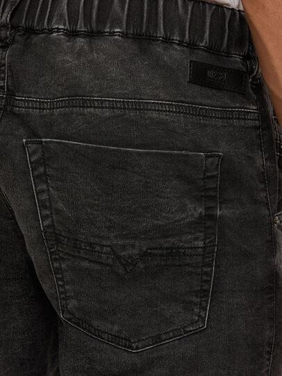 Diesel - KROOLEY JoggJeans® 009FZ, Nero/Grigio scuro - Jeans - Image 4