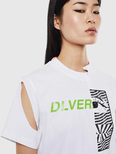 Diesel - T-GOMEZ, Bianco - T-Shirts - Image 3