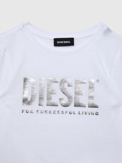 Diesel - TRASSYB-R, Bianco - T-shirts e Tops - Image 3