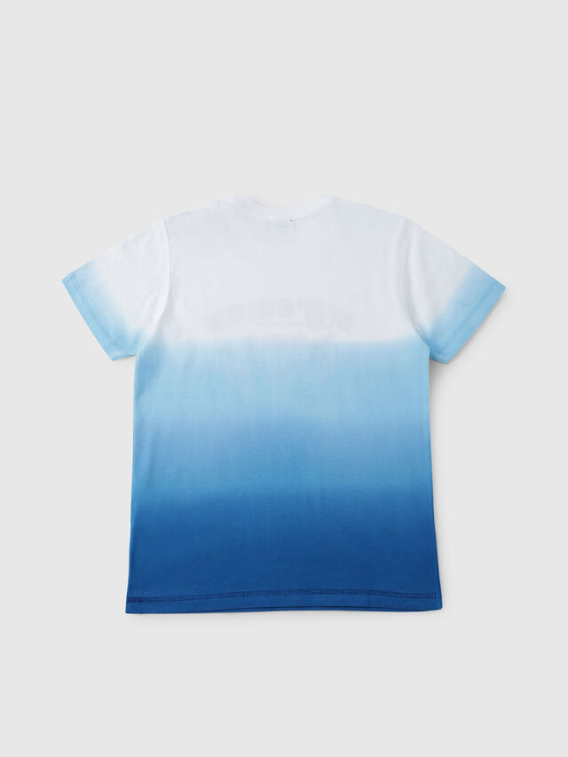 Diesel - TJOESR, Bianco/Blu - T-shirts e Tops - Image 2