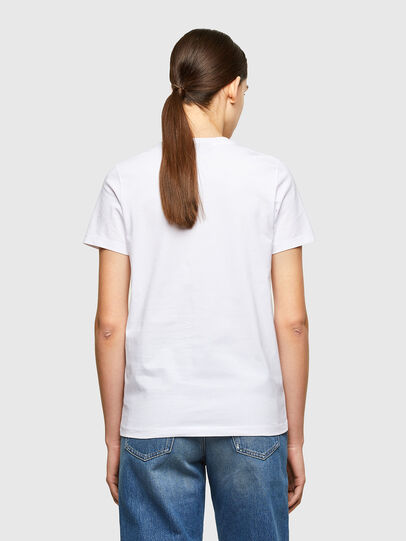 Diesel - T-SILY-K8, Bianco - T-Shirts - Image 2